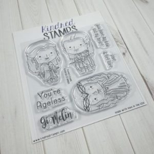 Kindred Stamps, Forest Elves stamp set, Australia