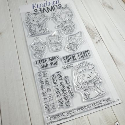 Kindred Stamps, Once Upon A Nap stamp set, Australia