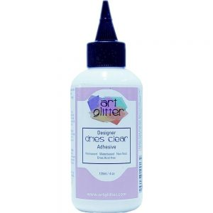 Art Glitter, Dries Clear Adhesive 4oz