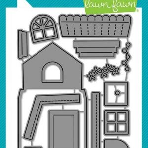 Lawn Fawn, Build A House die set, Australia