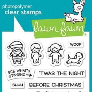 Lawn Fawn, Tiny Christmas stamp set, Australia