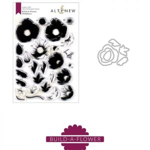 Altenew, Build A Flower Hellebore stamp & die bundle, Australia