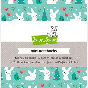 Lawn Fawn, Snow Day Remix mini notebooks, Australia
