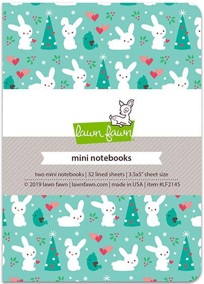 Lawn Fawn, Snow Day Remix mini notebooks, Australia