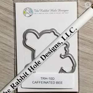 The Rabbit Hole Designs, Caffeinated Bee die set, Australia