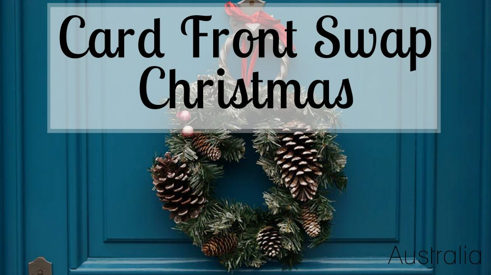 Swap - Card front, Christmas