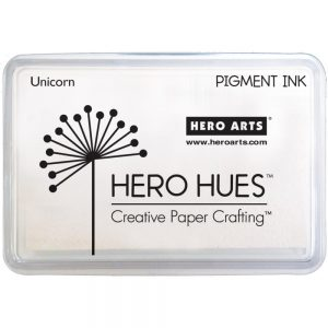 Hero Arts, Unicorn White pigment ink pad, Australia