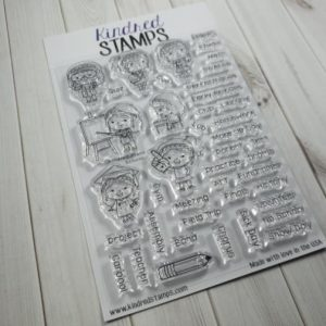 Kindred Plans School stamp set, Australia