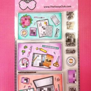 The Sassy Club, Desktop stamp set, Australia