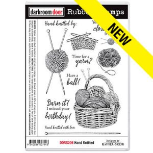 Darkroom Door, Hand Knitted stamp set, Australia