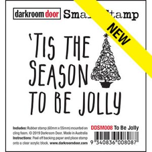 Darkroom Door, To Be Jolly stamp, Australia