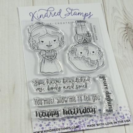 Kindred Stamps, Classic Love stamp set, Australia