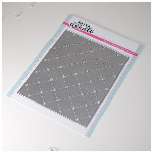 Heffy Doodle, Quilted Heart Background die set, Australia
