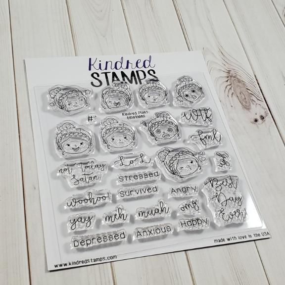 Kindred Stamps, Kindred Plans Emotions stamp set, Australia