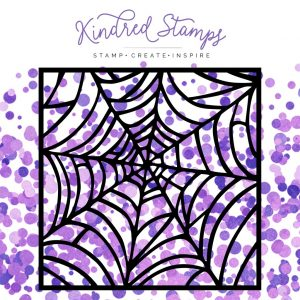 Kindred Stamps, Spiderweb stencil, Australia