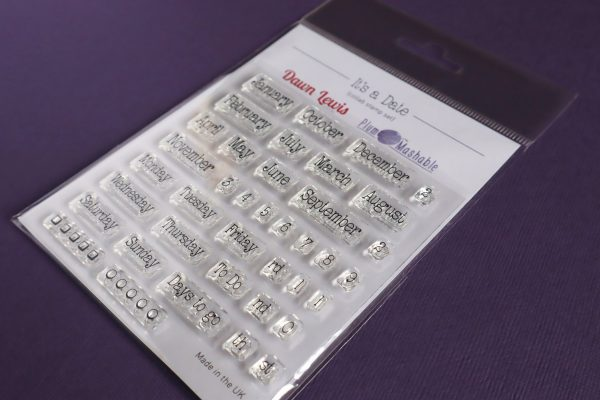 Dawn Lewis Imagery & Plum Mashable, It's A Date stamp set, Australia