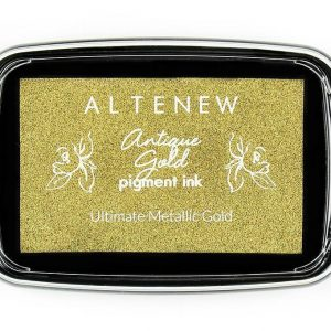 Altenew, Antique Gold pigment ink pad, Australia