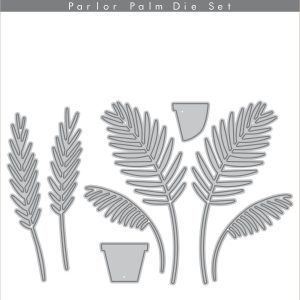 Altenew, Parlor Palm die set, Australia