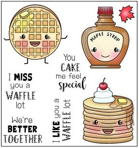 Darcie's Heart & Home, Waffle Lot stamp set, Australia