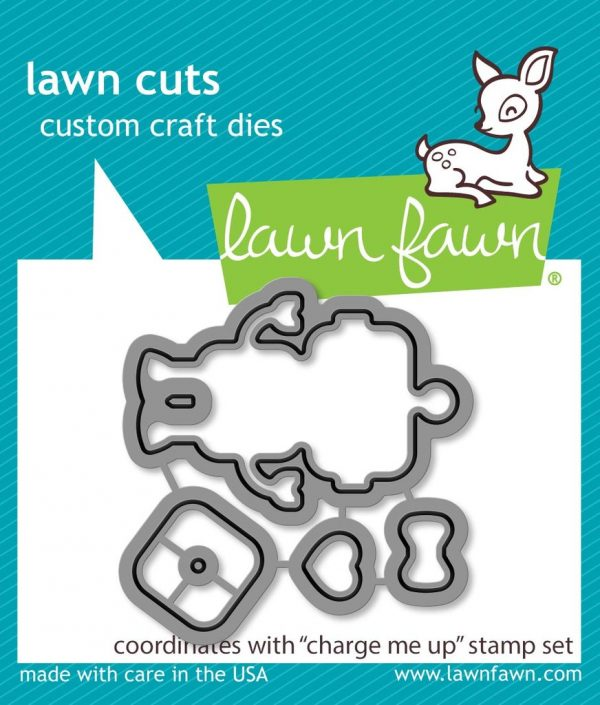 Lawn Fawn, Charge Me Up die set, Australia