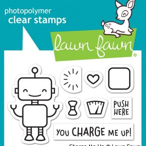 Lawn Fawn, Charge Me Up stamp set, Australia