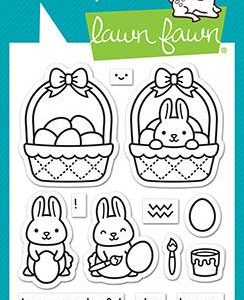 Lawn Fawn, Easter Before N Afters stamp set, Australia