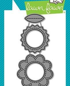 Lawn Fawn, Reveal Wheel Circle add-on frames flower & sun die set, Australia
