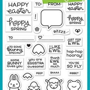 Lawn Fawn, Say What? Spring Critters stamp set, Australia