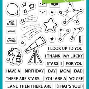 Lawn Fawn, Super Star stamp set, Australia