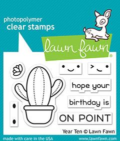 Lawn Fawn, Year Ten stamp set, Australia