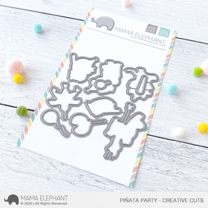 Mama Elephant, Pinata Party die set, Australia