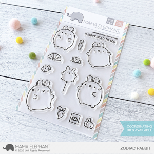 Mama Elephant, Zodiac Rabbit stamp set, Australia