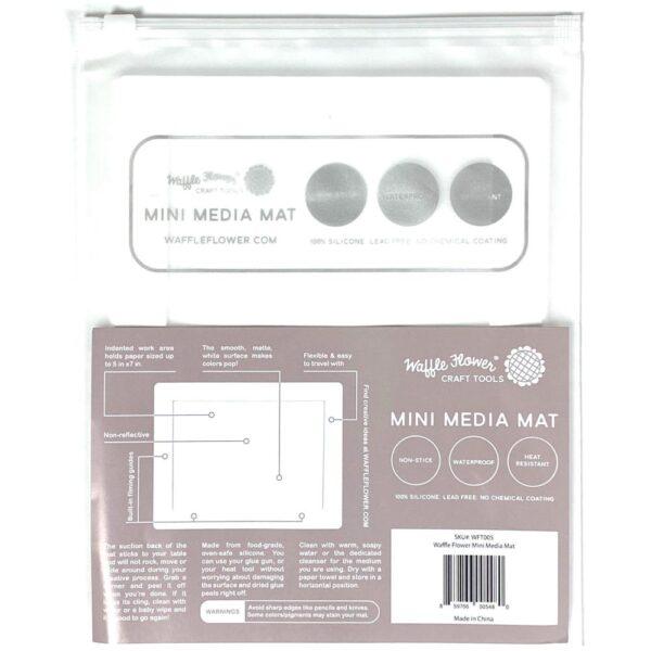 Waffle Flower, Mini Media Mat, Australia