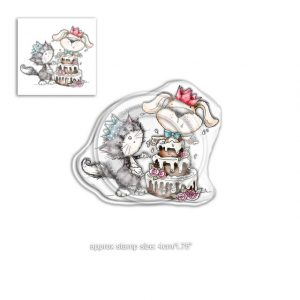 Polkadoodles, Horace & Boo Surprise stamp set, Australia