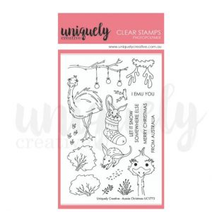 Uniquely Creative, Aussie Christmas stamp set, Australia