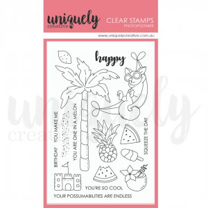 Uniquely Creative, Lazy Days stamp set, Australia
