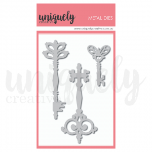 Uniquely Creative, Ornate Keys die set, Australia