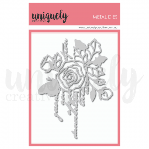Uniquely Creative, Rose Script die set, Australia
