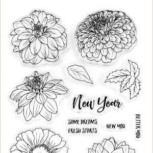 Altenew, New Beginnings stamp set, Australia