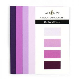 Altenew, Shades of Purple gradient cardstock, Australia
