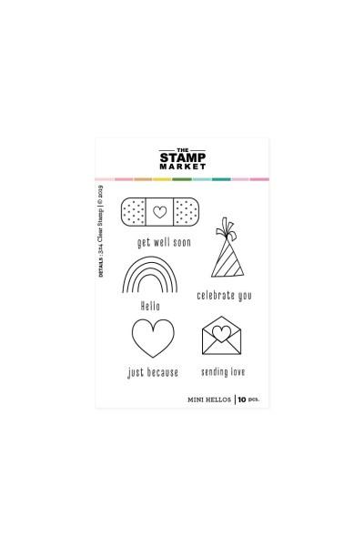 Stamp Market, Mini Hellos stamp set, Australia