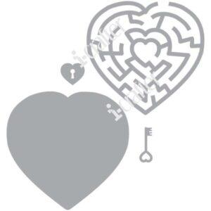i-Crafter, Heart Maze die set, Australia