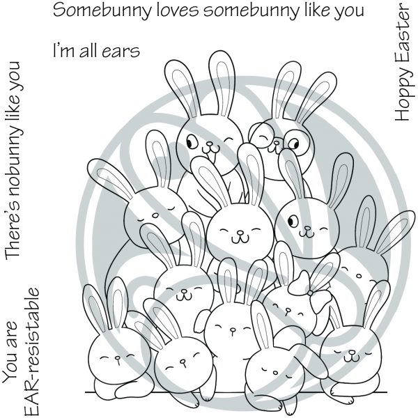 The Rabbit Hole Designs, All Ears stamp set, Australia