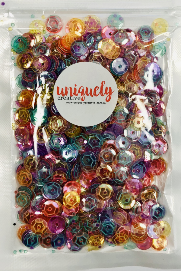 Uniquely Creative, Crystaline sequins, Australia