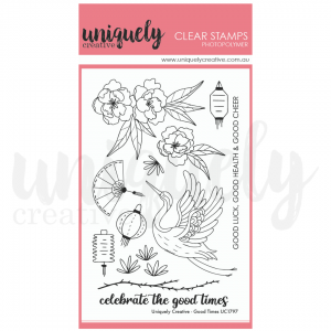 Uniquely Creative, Good Times stamp set, Australia