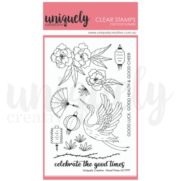 Uniquely Creative, Good Times stamp set, Australia