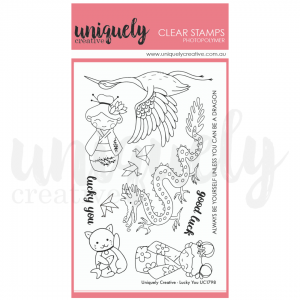 Uniquely Creative, Lucky You stamp set, Australia