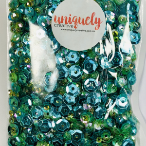Uniquely Creative, Tropical sequins, Australia