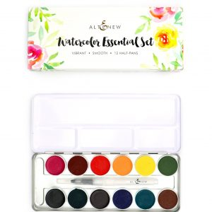 Altenew, Watercolor Essential 12 pan set, Australia