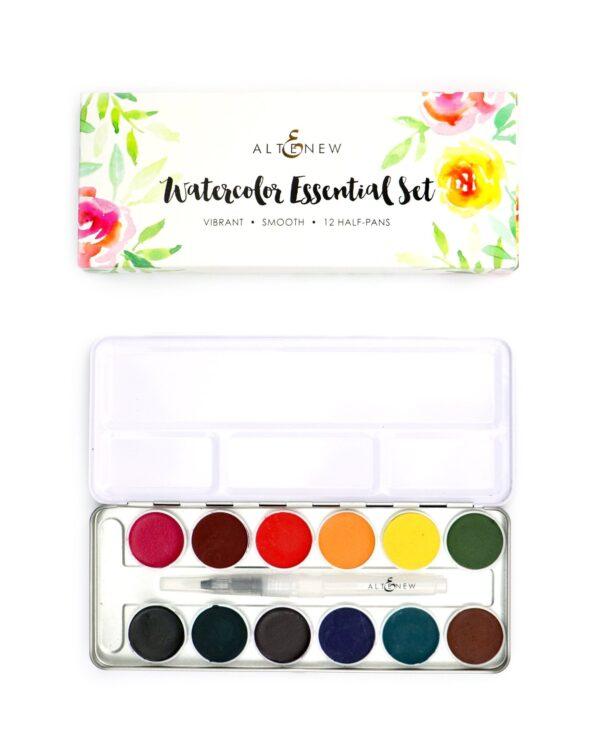 Altenew, Watercolor Essential 12 pan set, Australia